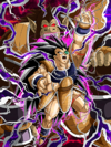 Dokkan Battle Atrocious Crackdown Raditz (Great Ape) card (Base Form UR)