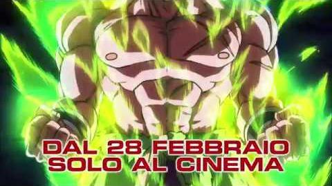 """Dragon Ball Super Broly - Il Film - Spot TV 30"""" HD"""