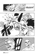 Goku kills Drum with a kick to the face
