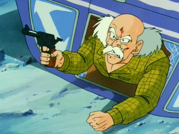 Hombre Viejo de la Ciudad del Futuro Alternativo