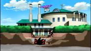 Buu Raquito impulso a Goku