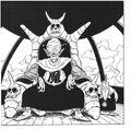 Demon King Piccolo and his son Piano