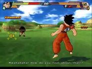 Goku vs Raditz BT3