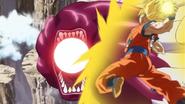 Pez Globo VS Goku