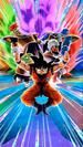 Dokkan Battle Ginyu Force Reborn Ginyu (Goku) (Ginyu Force) card (Goku's Body Captain Ginyu & Ginyu Force LR)