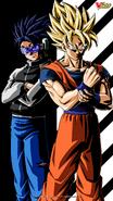 Patrullero XV2 Goku V Jump Promocional
