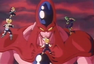 Gigante Hatchyack y Guerreros Z