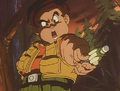 Puck Giving Goku Jr His Pen Back