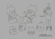Sketch DBZ11 Trunks (bebe)