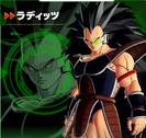 Raditz XV2 Character Scan