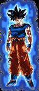 Doctrina egoísta Señal Son Goku Dokkan Artwork aura