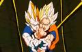 Deadly Vision - Goku Vegeta combo attack 3