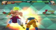 Goku SSJ vs Broly BT3