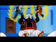 Goten and Trunks vs Mr Popo