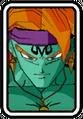 Super Dragon Ball Heroes World Mission - Face Icon - Kogu (Majin)