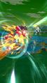 DB Legends Legends Limited Super Saiyan 4 Goku (DBL34-01S) Lightspeed 10x Kamehameha (SSJ4 Goku Charging while Dashing forward with Blast Armor)