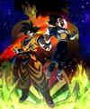 Dragon Ball Super Broly póster promocional especial hispanoamericano