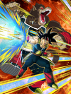 Dokkan Battle Intense Saiyan Impulse Bardock (Great Ape) card (Base Form SSR-UR)