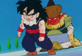 Gohan tired out salt about to beat him more3