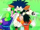 Raditz vs Goku,Piccolo.