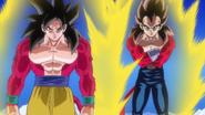 Goku y Vegeta SSJ4 en DBH Jaakuryu Mission 6