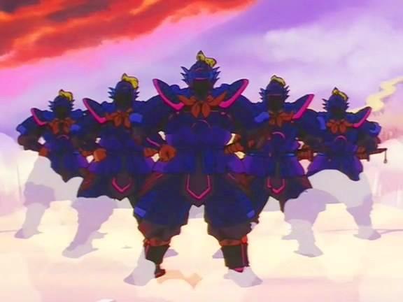 Guardianes del Horno de las Ocho Divisiones