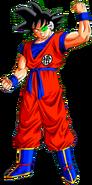 Giniu nel corpo di Goku