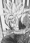 Gogeta Xeno SS4 listo para pelear