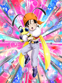 Dokkan Battle A New Friend in Space Pan (GT) (Honey) card
