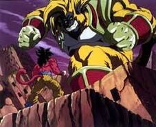 Goku ssj 4 vs baby