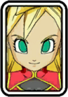 Super Dragon Ball Heroes World Mission - Face Icon - Note (Ultimate Class) (Super Saiyan 2)