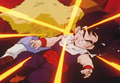Salt punched gohan in the mouth hard