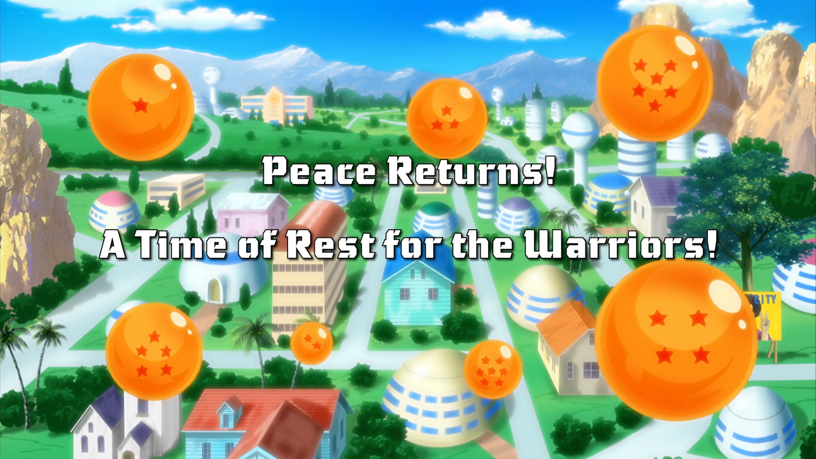 Peace Returns! A Time of Rest for the Warriors!