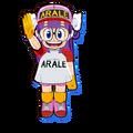 Dragon Ball Fusions-Arale