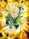 Dokkan Battle Rage of Justice Great Saiyaman (SS2) card (Super Saiyan 2 Great Saiyaman Unmasked SSR-UR)