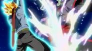 SuperTrunks Hikari Sword Genkidama 8