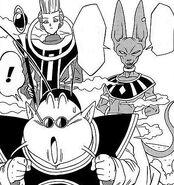 Dragon ball super manga cap 2 - beerus accetta la sfida di goku
