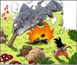 Morte pesce pranzo di yajirobei.JPG