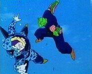 Piccolo vs Cell Junior