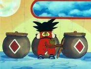 Goku en la torre