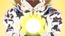 Vegeta's Final Flash vs. Cabbage