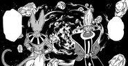 Dragon ball super manga cap 1 - beerus e whis dopo aver distrutto il pianeta