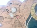 When Nappa's killed by Vegeta