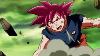 Goku Vs Kefla Super Saiyan Blue Beaten Dragon Ball Wiki Fandom