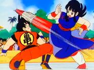 La Princesa Chi-Chi VS El Saiyajin Goku