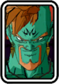 Super Dragon Ball Heroes World Mission - Face Icon - Bido (Majin)