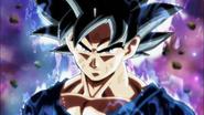 Goku Doctrina egoísta (Señal) listo para pelear