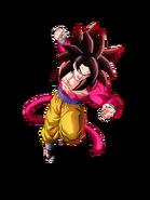 Goku Saiyan 4 Ultramáximo poder Dokkan Battle