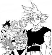 Trasformazioni Son Goku Toyotaro
