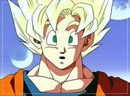Goku ssj maximo poder saga de majin boo
